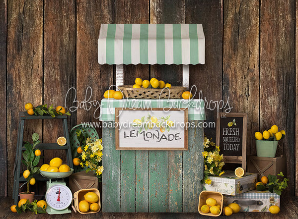 Lemon Party - 60Hx80W - BS (Matte Fleece)