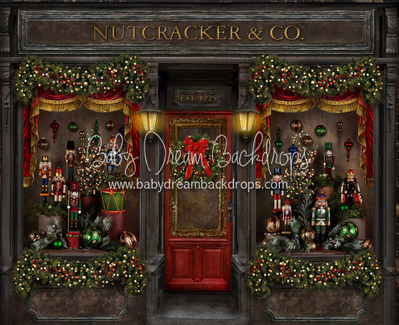 Magical Main Street Nutcracker 50x60