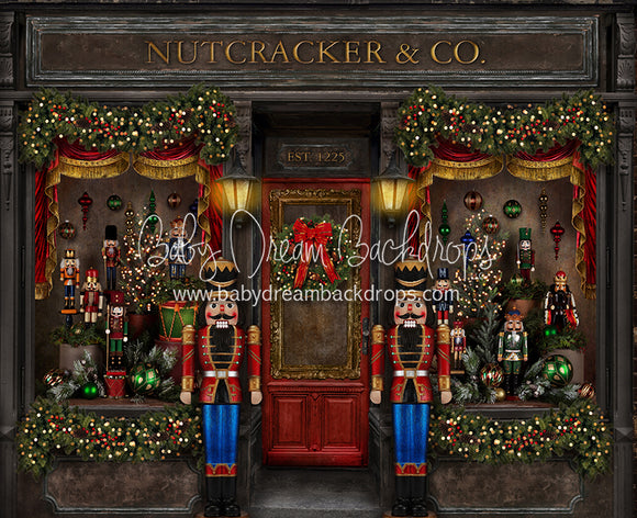 Magical Main Street Nutcracker (with Soldiers) 50x60
