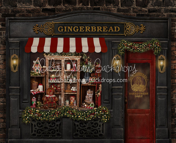 Magical Main Street Gingerbread (Large Door)