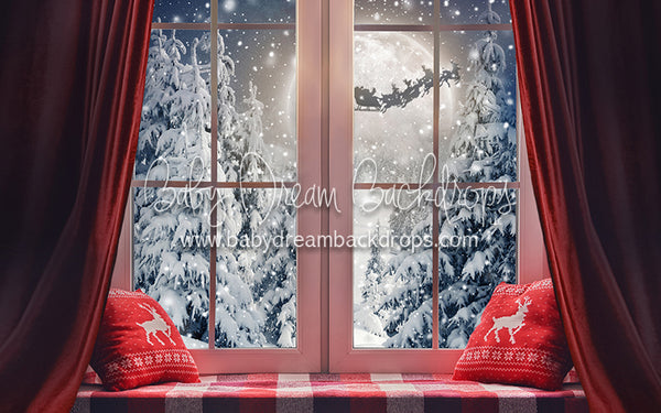 Cozy Window Evening - 5x8 - CC
