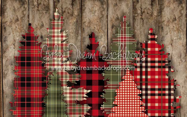 Rad Holiday Plaid - 5x8 - CC  (Matte Fleece)