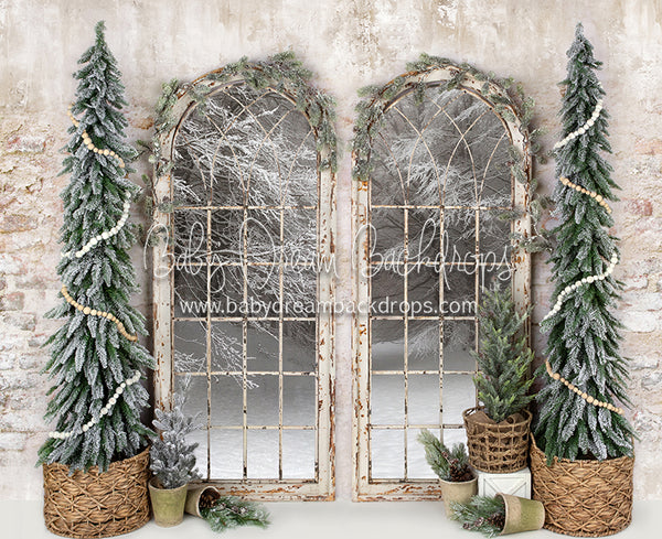 Merry Macrame Window