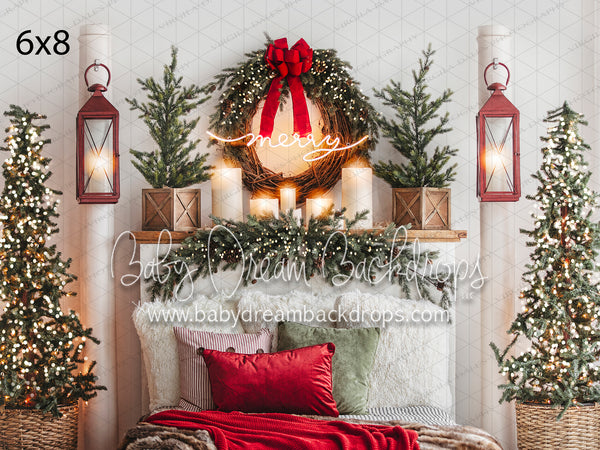 Merry and Bright Holiday Headboard Lights