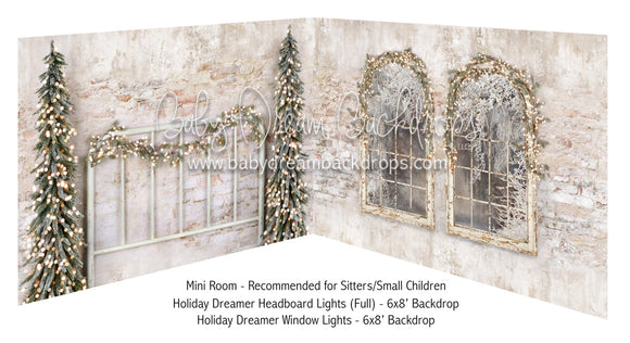 Holiday Dreamer Headboard Lights Full and Window Lights
