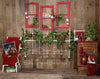 Old Time Christmas Headboard
