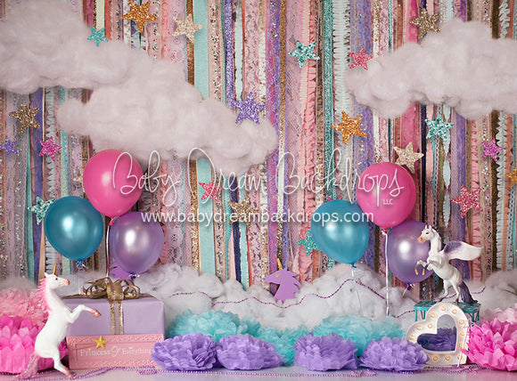 Party Fluff Birthday - 60Hx80W - BS