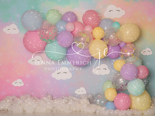 Pastel Rainbow with Twinkle Lights