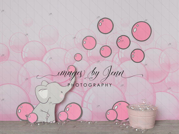 Pink Elephant Bubbles
