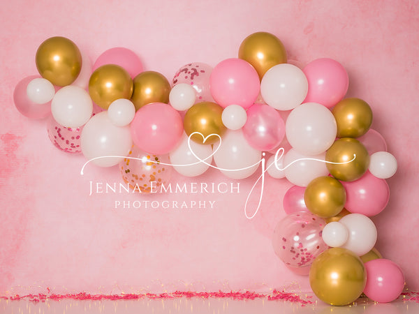 Pink and Gold Garland