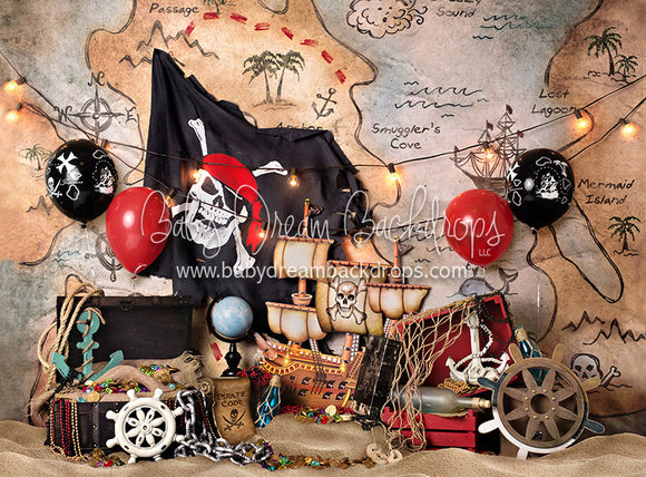 Pirate Party Balloons - 60Hx80W - BS