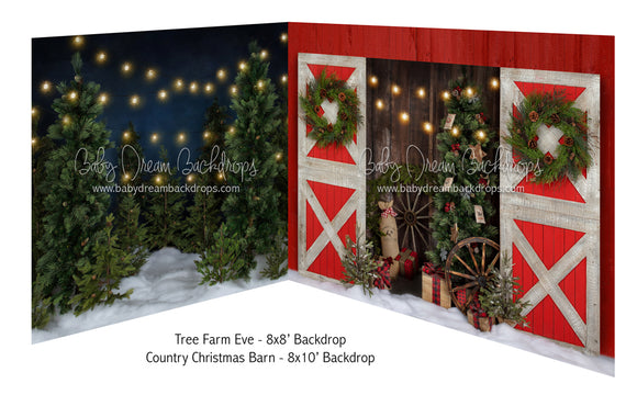 Tree Farm Eve and Country Christmas Barn