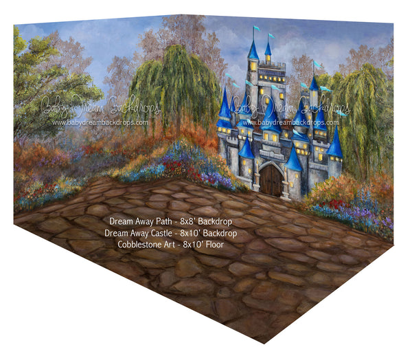 Dream Away Castle and Dream Away Path Room