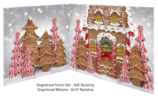 Gingerbread Forest Side and Gingerbread Welcome