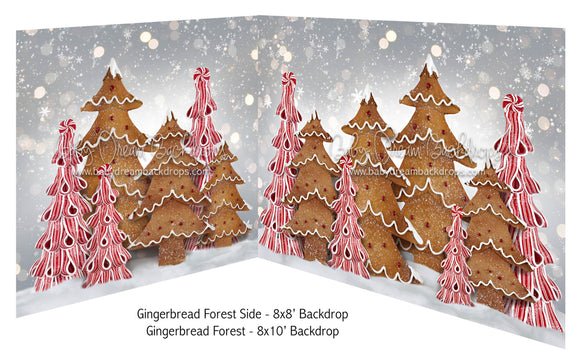 Gingerbread Forest side and Gingerbread Forest