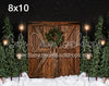 Rustic Christmas with Lights