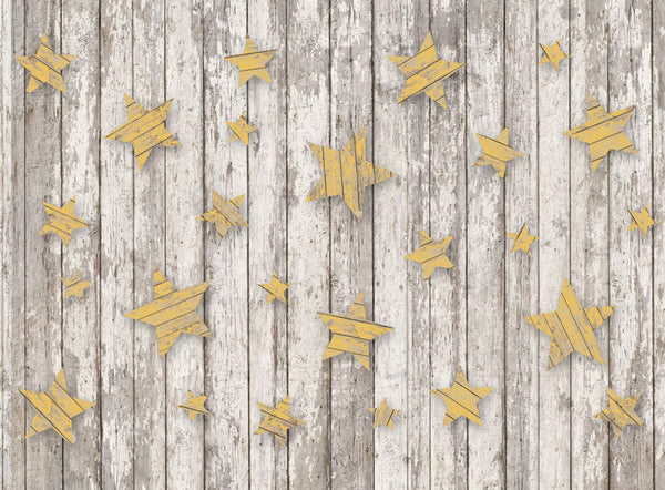 Rustic Stars Yellow - 60x80 Long
