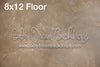 Sandblast Cement Warm Floor 8x12