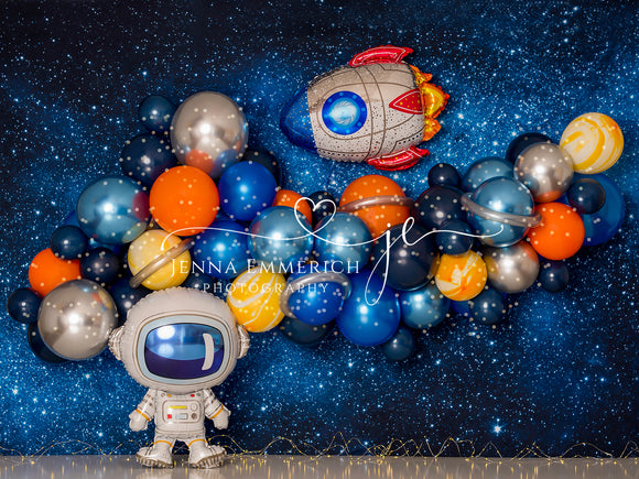 Space Adventure with Mylar and twinkle