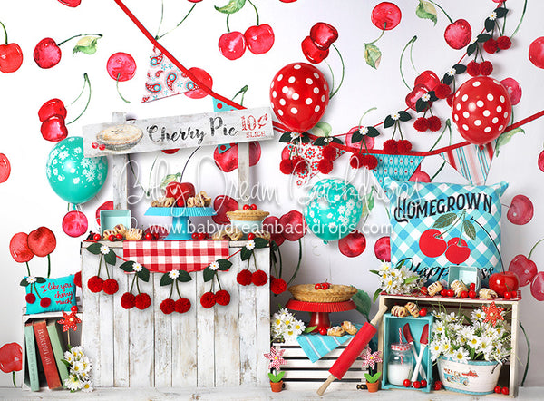 Sweet Cherry Pie Balloons - 60Hx80W- BS