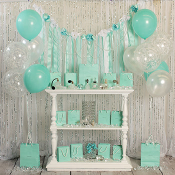 A Tiffany Birthday - 8x8ft - BD
