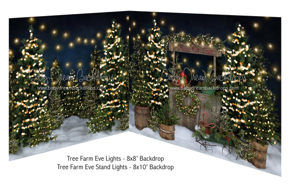Tree Farm Eve Lights and Tree Farm Eve Stand Lights
