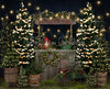 Tree Farm Eve Stand Lights (Grass)