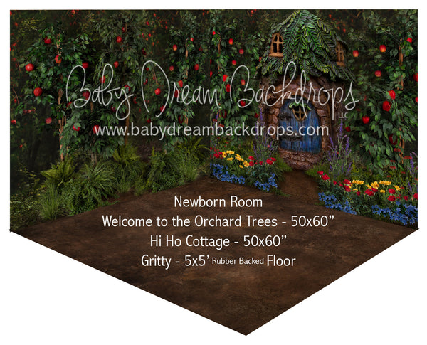 Welcome to the Orchard Trees and Hi Ho Cottage Newborn Room