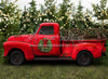 Vintage Red Truck Christmas (Smaller)