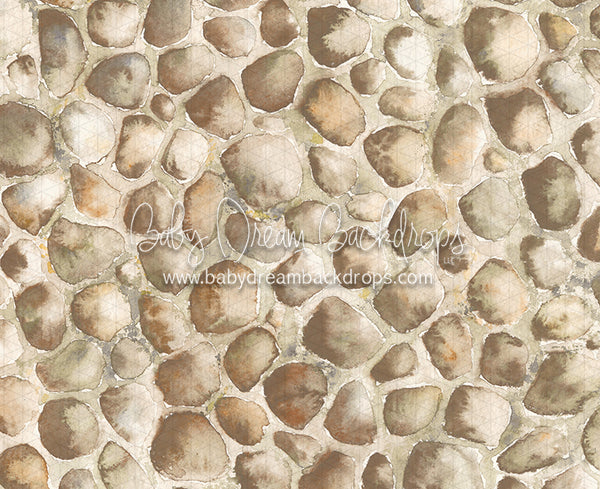 Watercolor Cobblestone