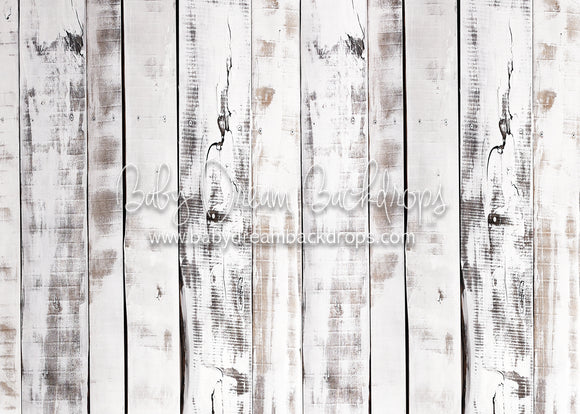 White Painted Barnwood