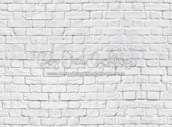 White Brick - 60Hx80W - CC (Matte Fleece)