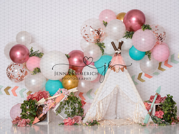 Wild One Balloon Garland - No one