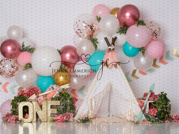 Wild One Balloon Garland