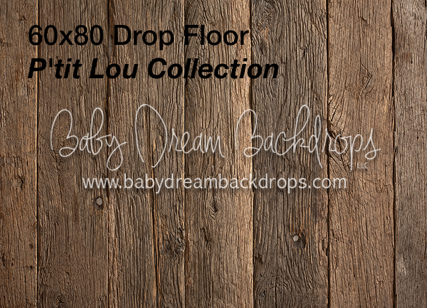 Wood Fabric Drop