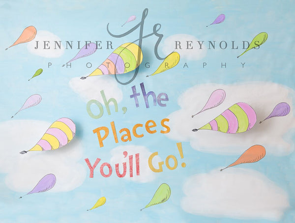 Oh The Places You'll Go 6x8 JR