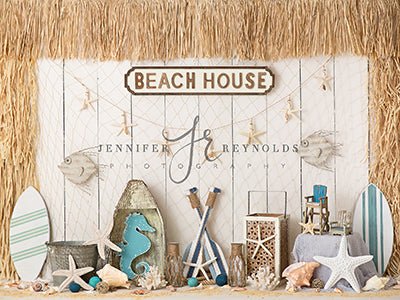 Beach House 6x8 JR