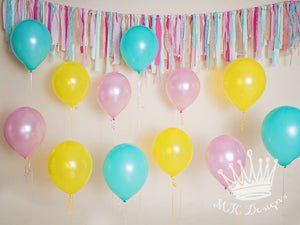 Birthday Balloons - 60x80 Long
