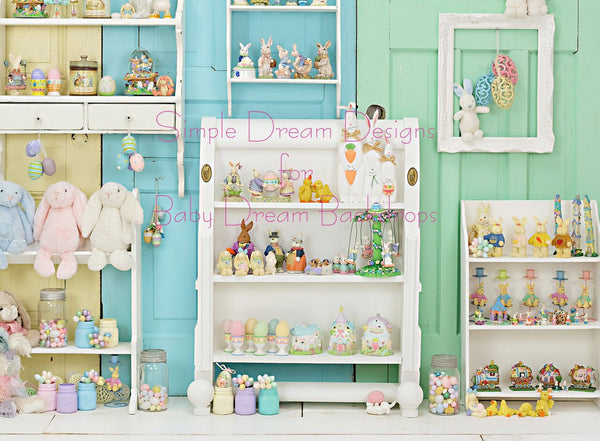 Easter Knick Knacks 60x80 Horizontal