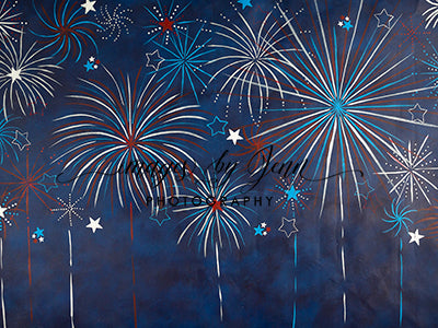 Fireworks in the sky 60hx80w JG