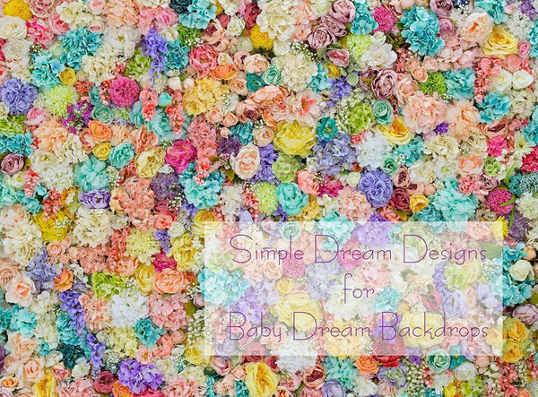 Floral Wall 60Hx80W SD