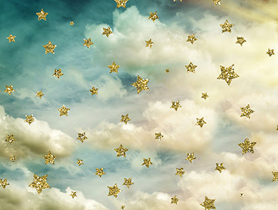 Heavenly Sky with stars 60Hx80W BD