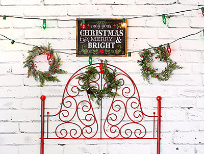Merry and Bright  Headboard 6x8 FULL BD