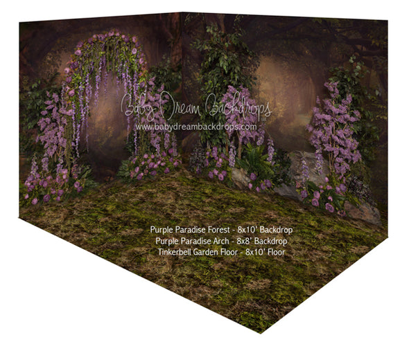 Purple Paradise Forest and Purple Paradise Arch Room