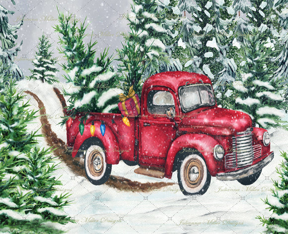 Red Truck Holiday