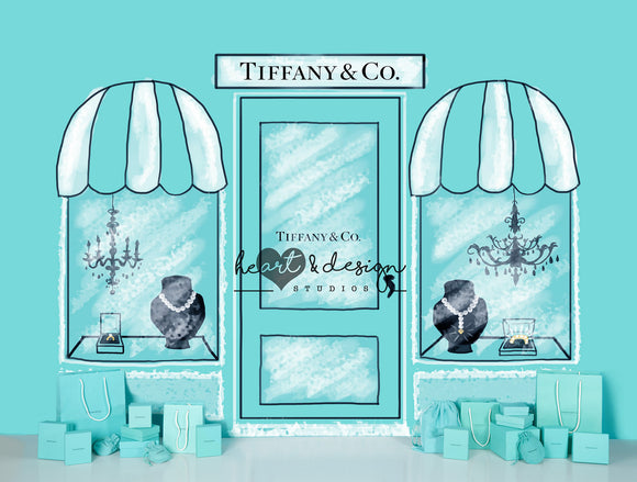 Tiffany Shopping Spree with Bags 6x8 MR
