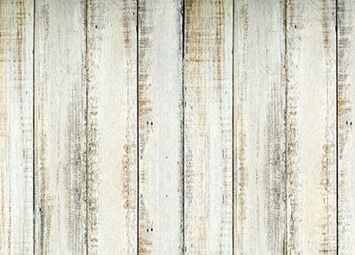 White Washed Big Planks Floor