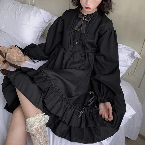 Quinn Darkwish Long Sleeve Dress