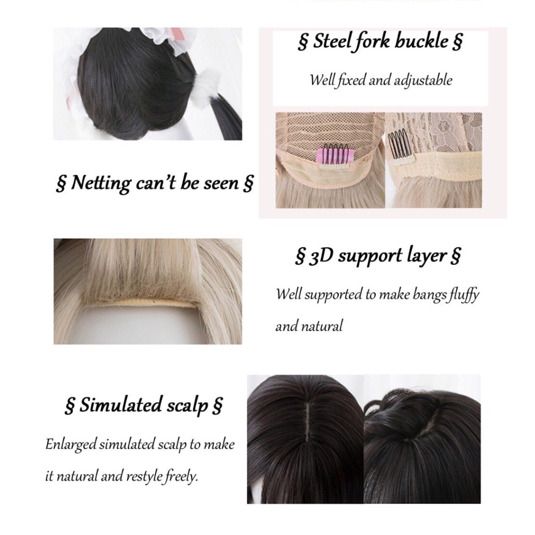 Enchanted Nightfall Lolita Wig