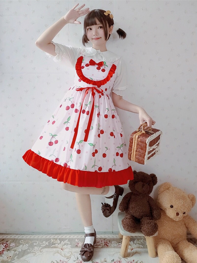 Cozybell Cherry Lolita Dress